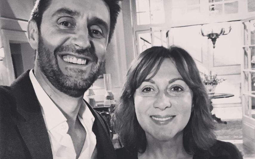Maria João Abreu e Daniel Oliveira