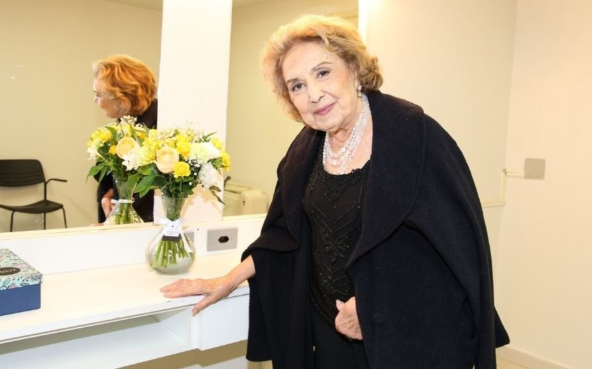 Eva Wilma morreu os 87 anos, vítima de um cancro no ovário
