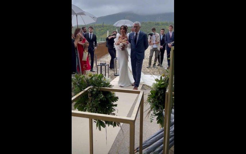 Anita da Costa casou-se este domingo, 16 de maio