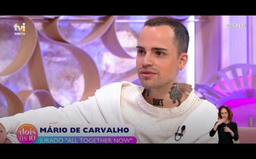 """Mário de Carvalho marcou presença no """"Dois às 10"""", da TVI, esta segunda-feira, 17 de maio"""