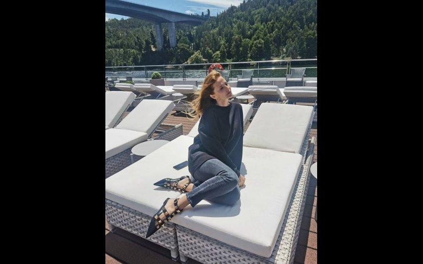 As sandálias de Cristina Ferreira são da marca Valentino e custam quase 900 euros