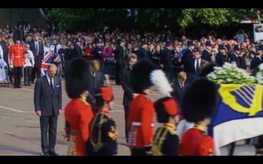 Imagens do funeral da princesa Diana