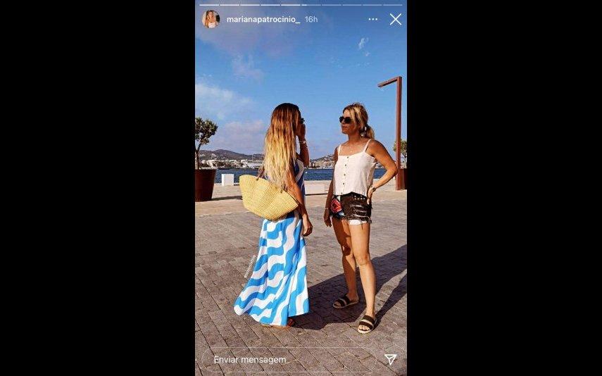 Carolina Patrocínio, férias, amigas, Ibiza, redes sociais, SIC, Pimpinha Jardim