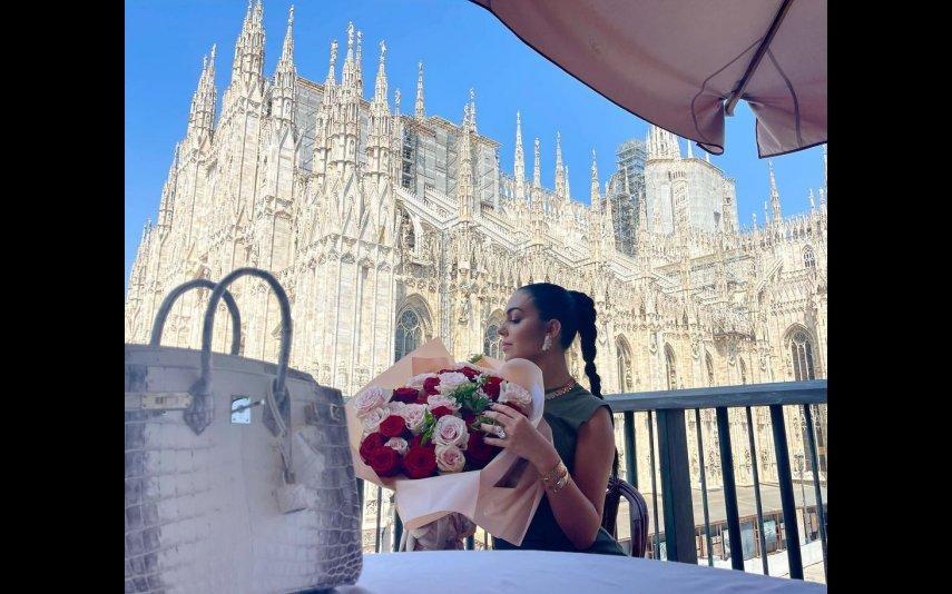 Georgina Rodríguez, Cristiano Ronaldo, joias, marca de luxo, Milão