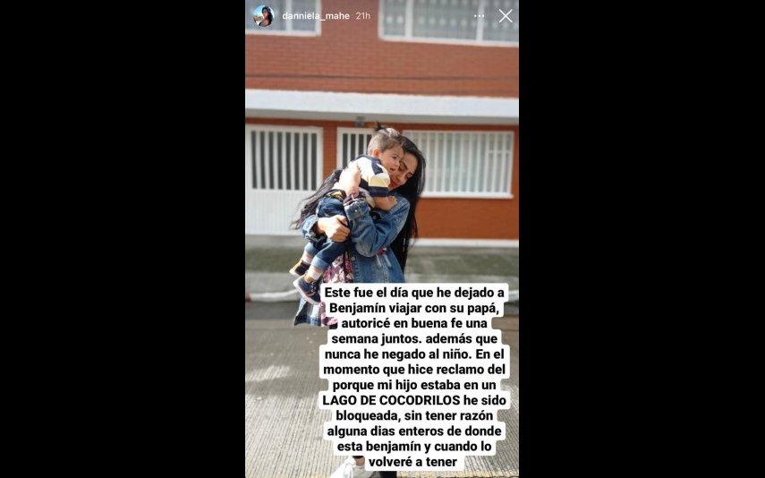 Cláudio Viana está a ser acusado pela ex-namorada de ter levado o filho de um ano sem a autorização da mãe da criança