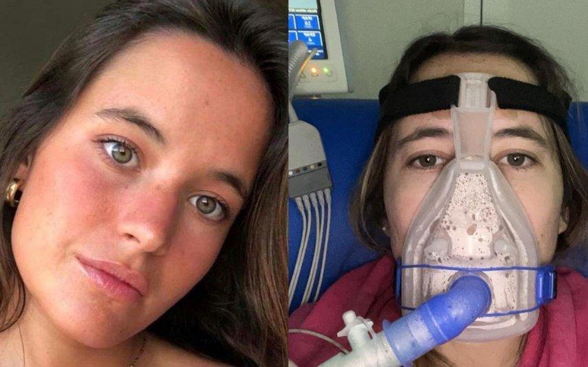 Constança Braddell, que tem fibrose quística, está internada em estado muito grave