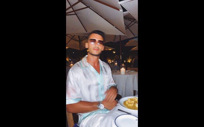 Ruben Rua está a desfrutar de uns dias de descanso num destino paradisíaco