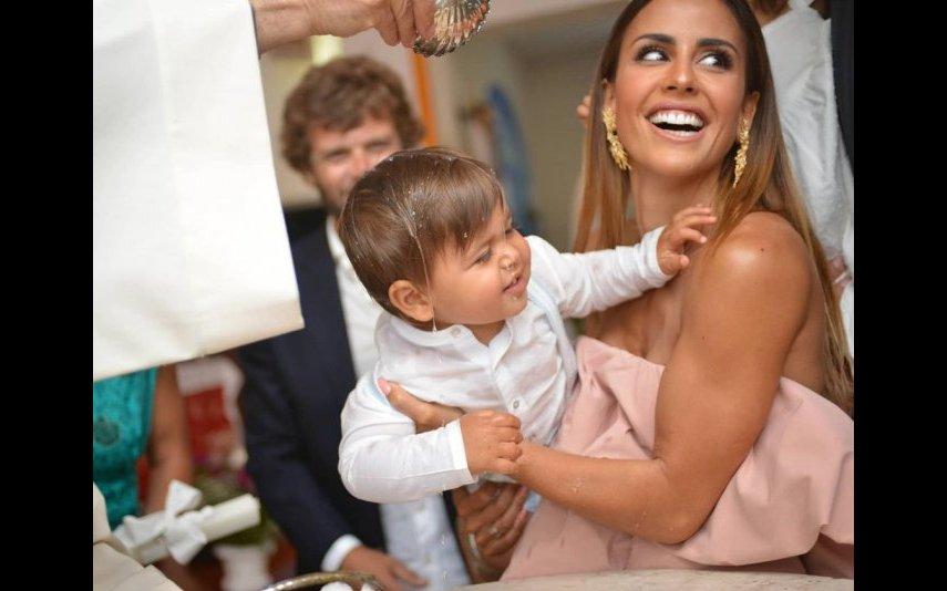Carolina Patrocínio tem os quatro filhos em escolas diferentes