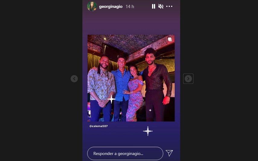 Cristiano Ronaldo e Georgina Rodríguez, Calema, Lisboa, redes sociais