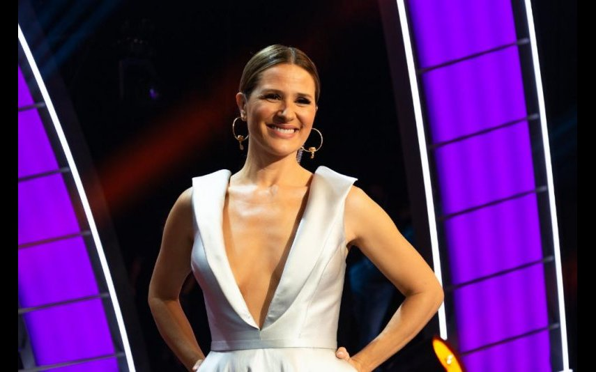 """Sílvia Alberto, apresentadora do """"Got Talent Portugal"""", da RTP1"""