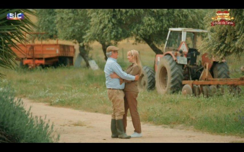 """A candidata de """"Quem Quer Namorar com o Agricultor?"""" Andreia Moreno estava comprometida quando entrou para o programa da SIC"""