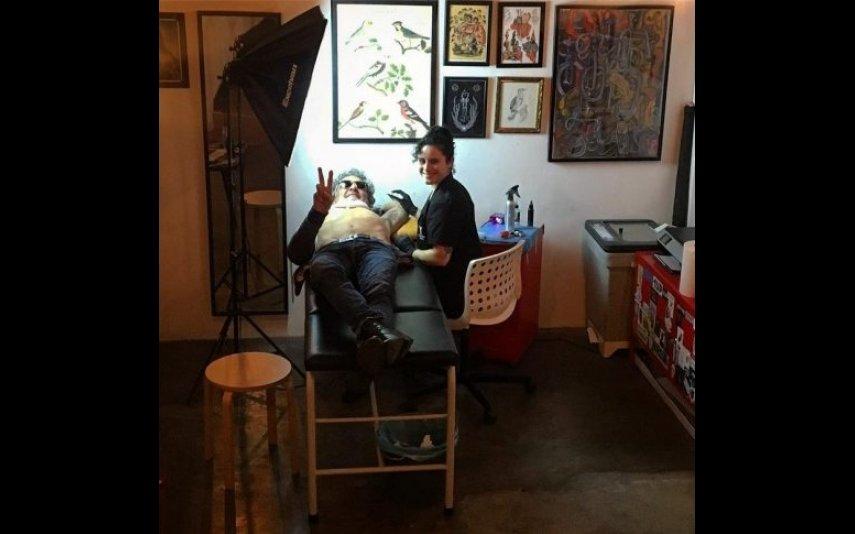 Rogério Samora fez uma tatuagem no ano em que pensou em afastar-se dos ecrãs
