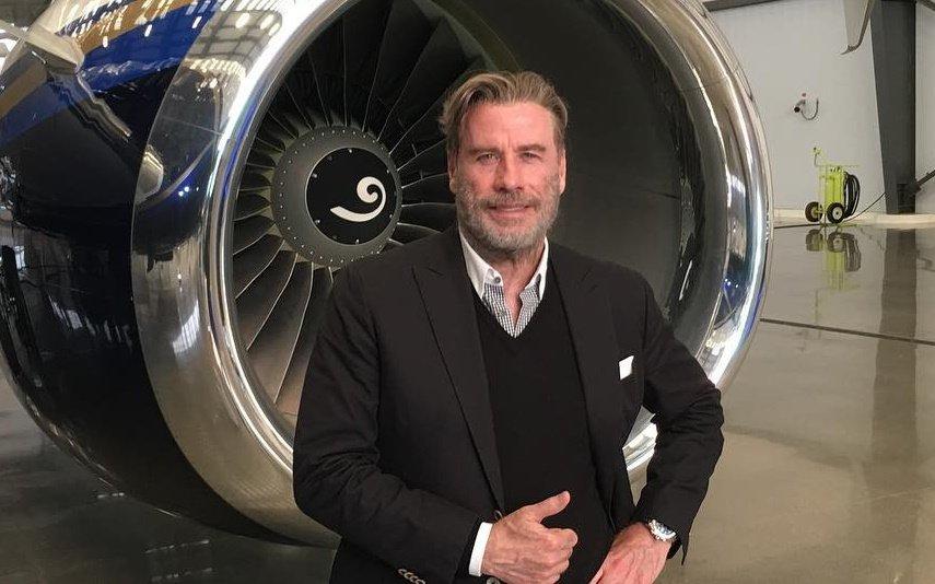 John Travolta, Açores, jato privado, ator, Hollywood, São Miguel, viagem, filha