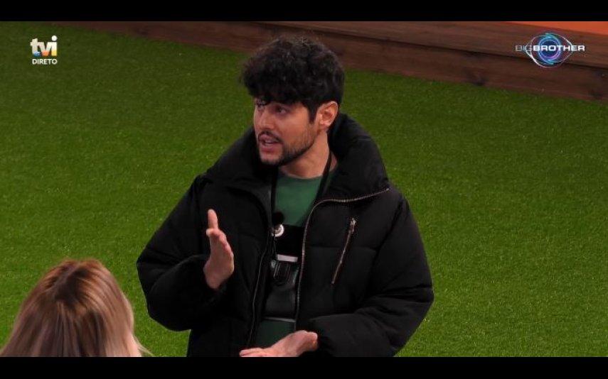 Big Brother, TVI, Diários, reality show, Ana Morina, Bruno d'Almeida, confronto, desistir