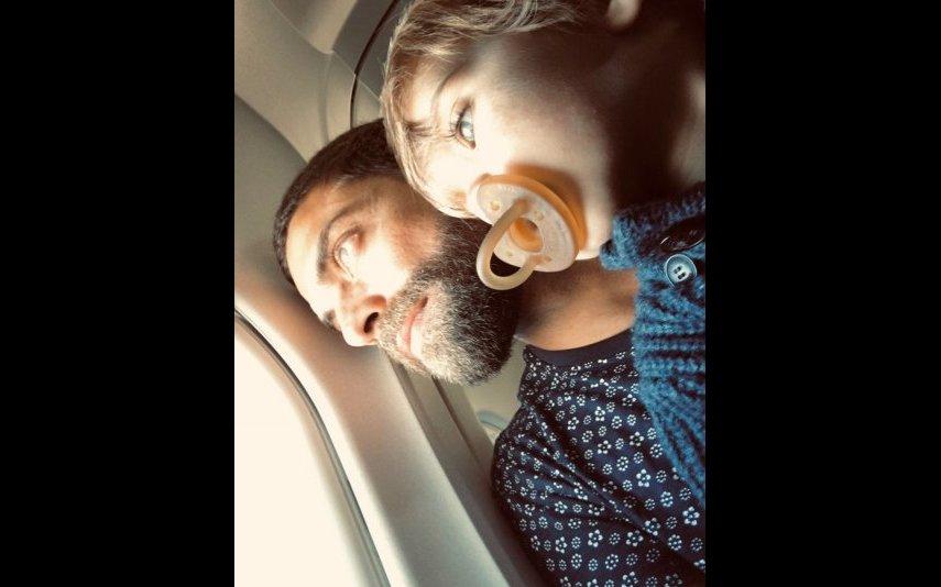 Diogo Amaral, filho, Mateus, aniversário, rosto, imagens, redes sociais, Vera Kolodzig