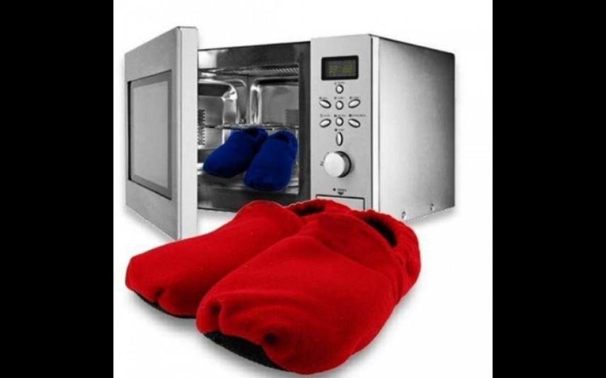Pantufas para aquecer no microondas, Impala Store, 14,99 euros