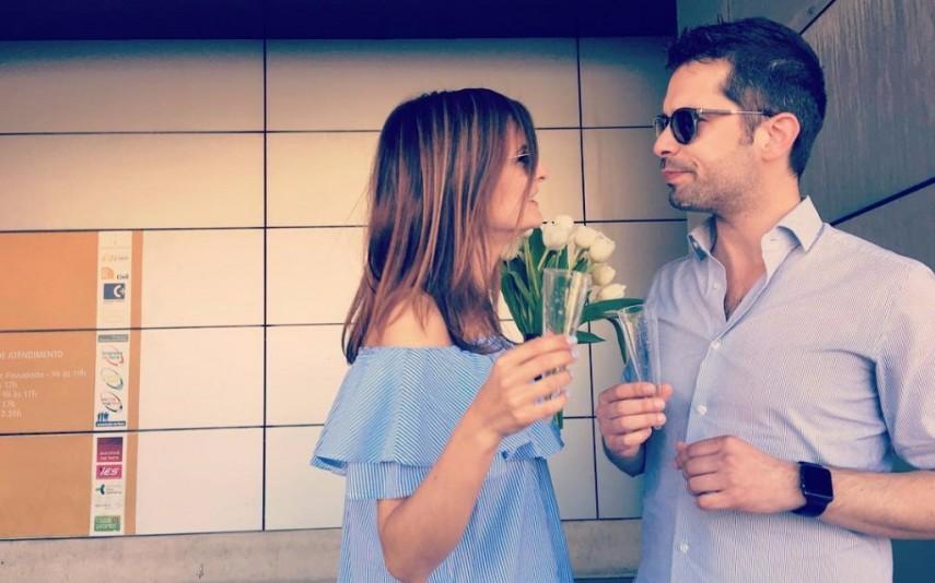 No dia em que Sara e João se casaram pelo registo civil