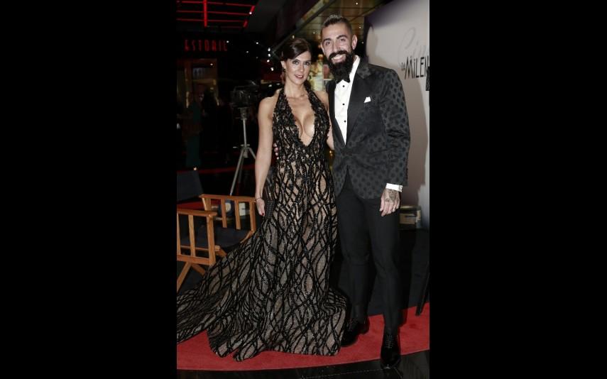 Paulo Battista e mulher, Susana Battista