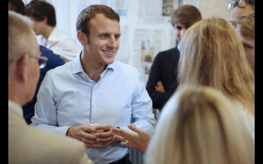 3. Emmanuel Macron