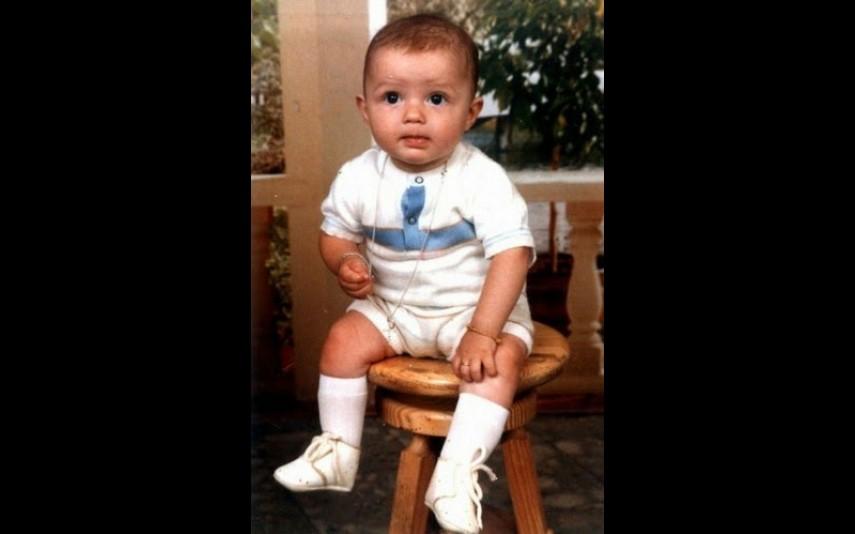Cristiano Ronaldo em bebé