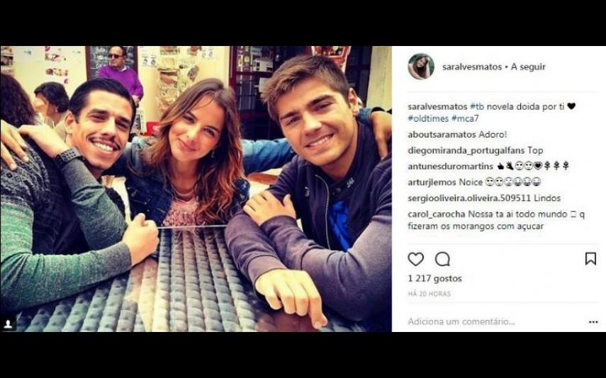 Sara Matos E Lourenço Ortigão Fãs divulgam fotografia de ex-casal - Impala