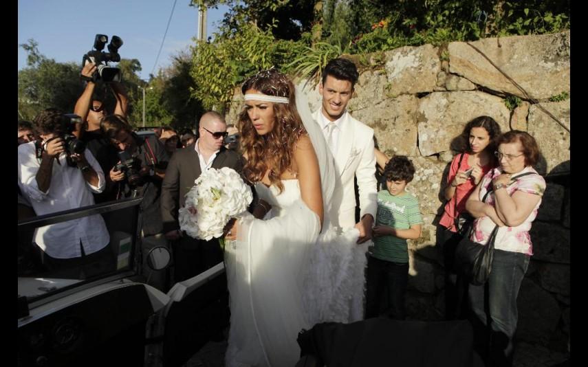 Sofia Ribeiro e Ruben Rua casaram-se em 2011