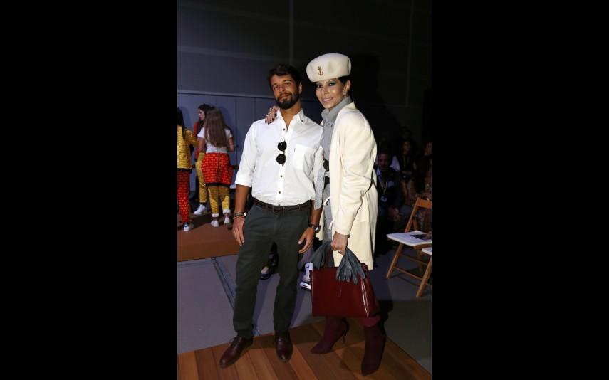 José Castelo Branco com o filho