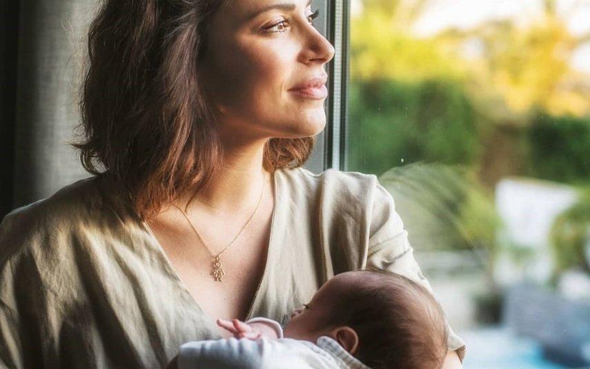 Dânia Neto e filho