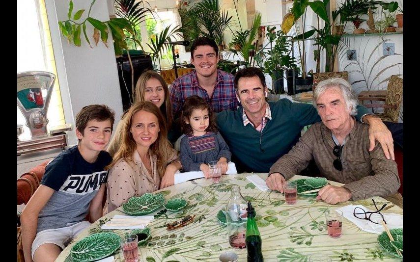 Pedro Lima, Anna Westerlund, Clara, Ema, Max e João Francisco