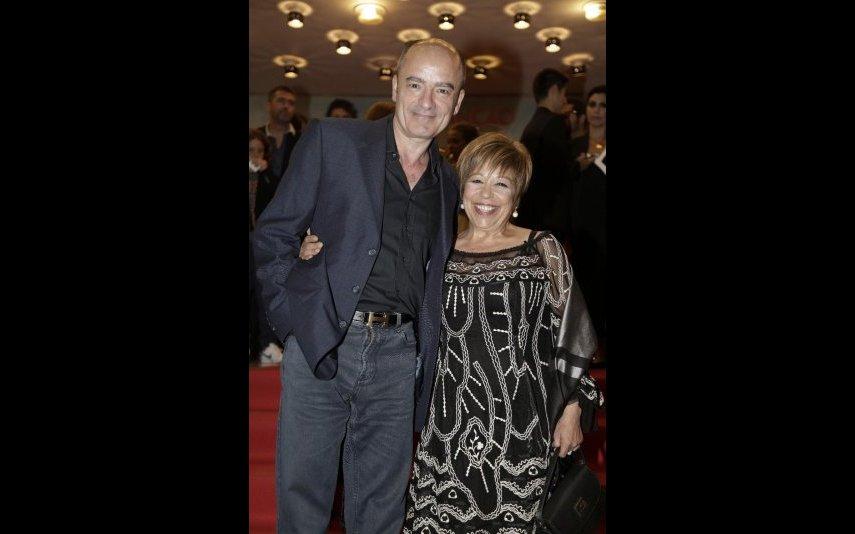 Maria Vieira e o marido