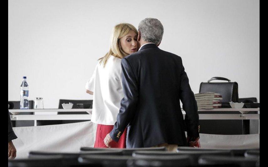 Judite Sousa com o pai, Joaquim Sousa