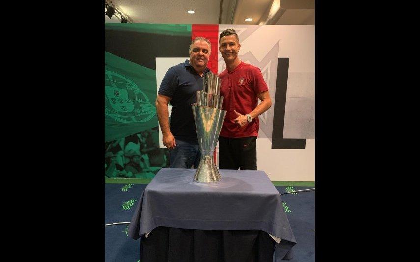 Cristiano Ronaldo e José Andrade