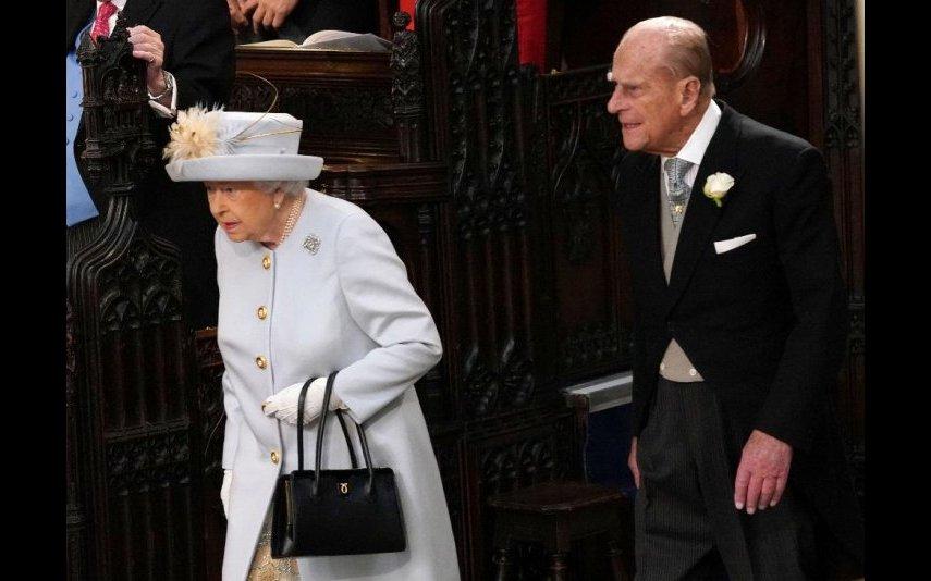 Rainha Isabel II e o marido
