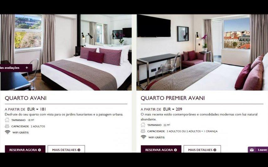 Veja as fotos do hotel onde Cristina Ferreira passou a noite
