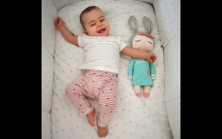 Carolina, a filha de Cláudia Borges