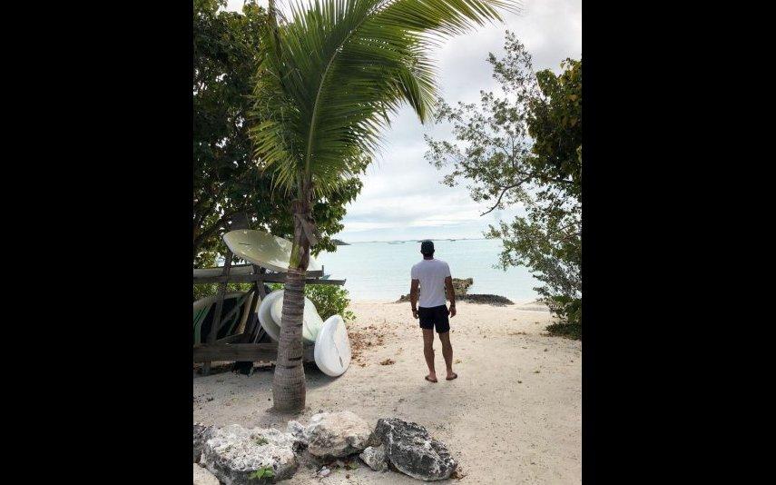 Luís Figo de férias