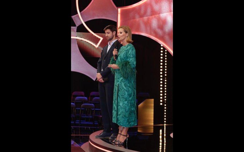 Cristina e Daniel na apresentação de Prémio de Sonho