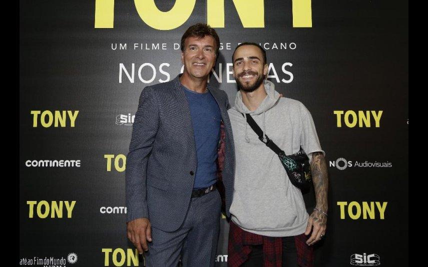 Diogo Piçarra e Tony Carreira