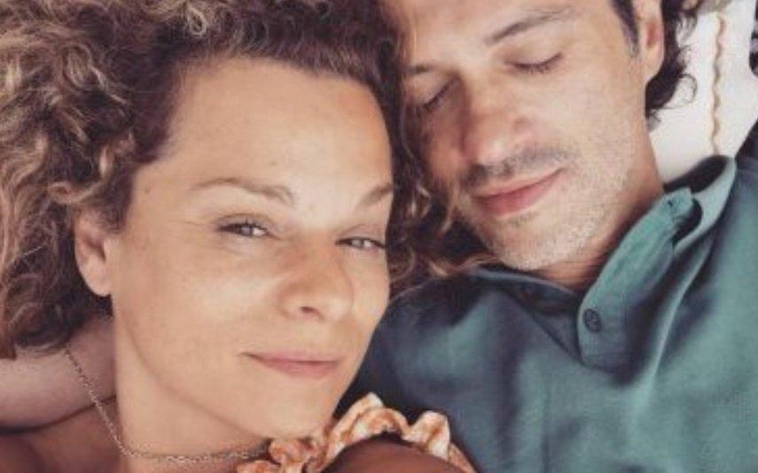 Rita Mendes e namorado