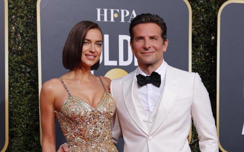 Irina Shayk e Bradley Cooper num evento