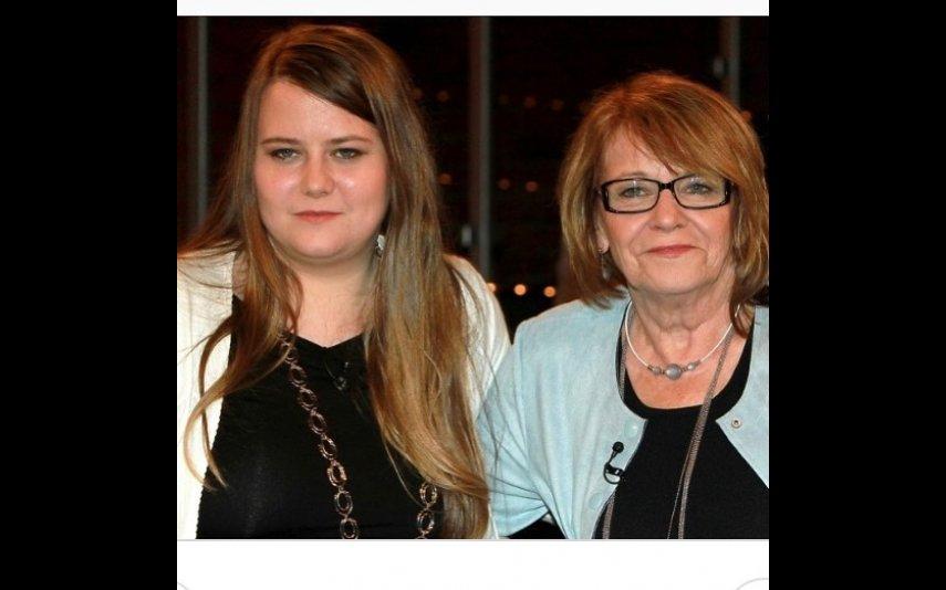 Natascha Kampusch com a mãe
