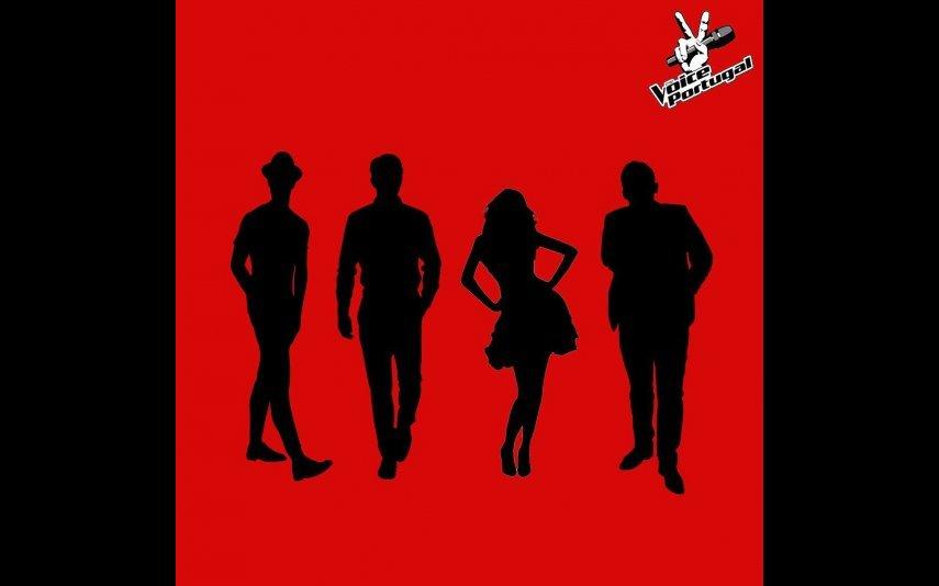 Esta é a imagem que esconde os 4 novos mentores do The Voice Portugal