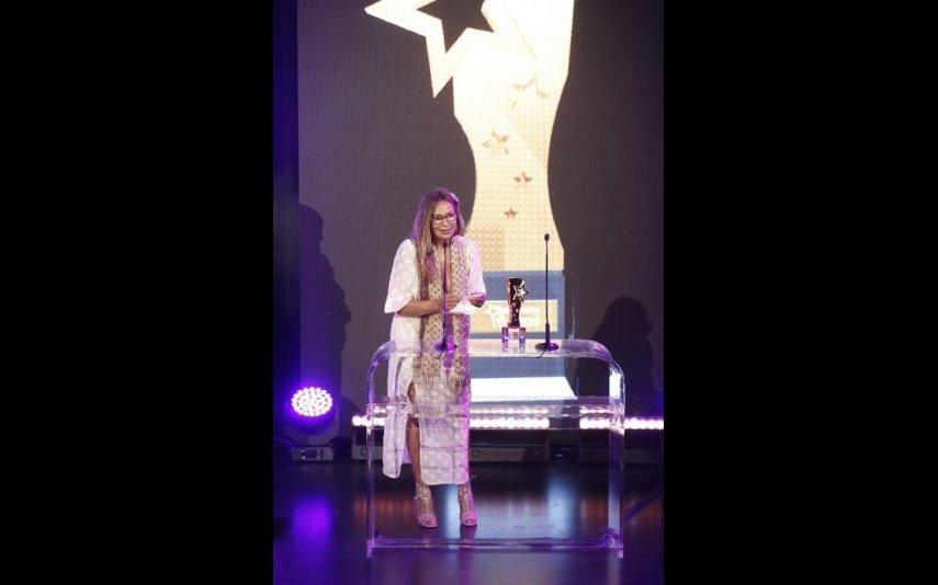 Cristina Paiva recebeu prémio em nome de Diogo Morgado