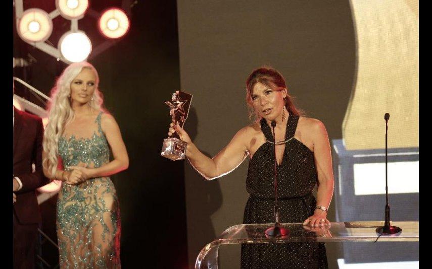 Margarida Vitória Pereira recebeu prémio pelo Mais Futebol