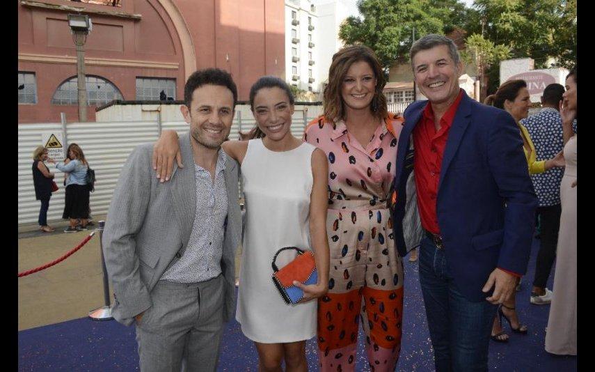 João Paulo Rodrigues, Carolina Carvalho, Maria Botelho Moniz e João Baião