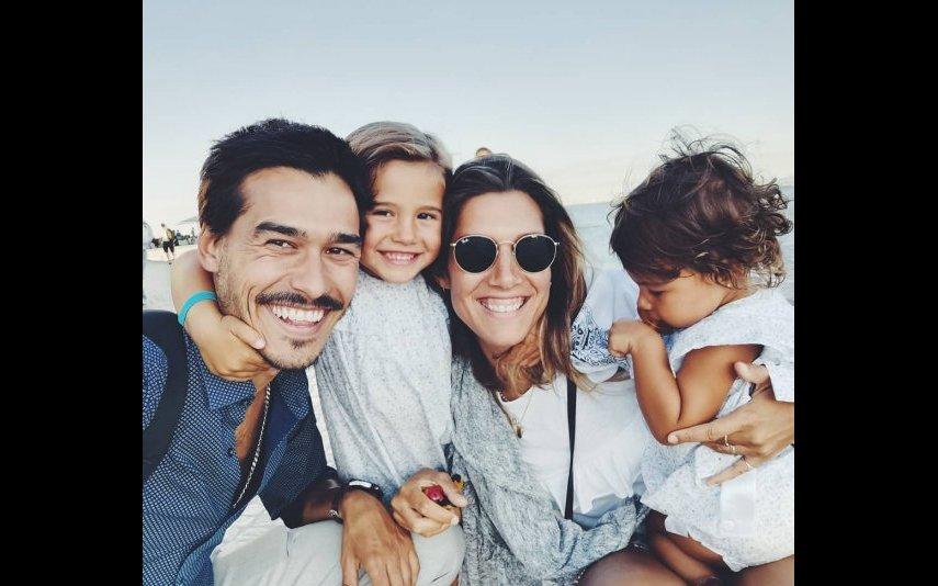 Francisco Garcia, Teresa, Mercedes e Sofia Sousa Guedes