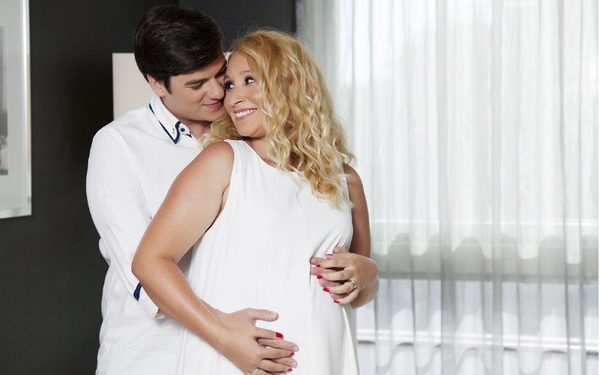 Mara Prates e Diogo Lopes