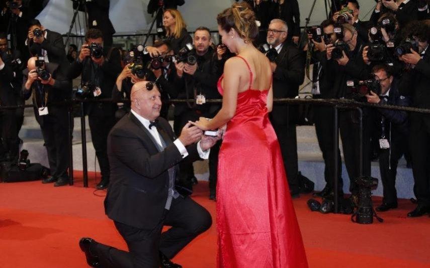 Milos Kant pediu Margarida Aranha em casamento em Cannes