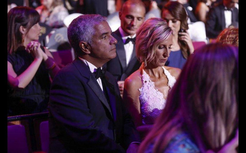 Marta Atalaya assume relação com Mário Carneiro nos Globos de Ouro