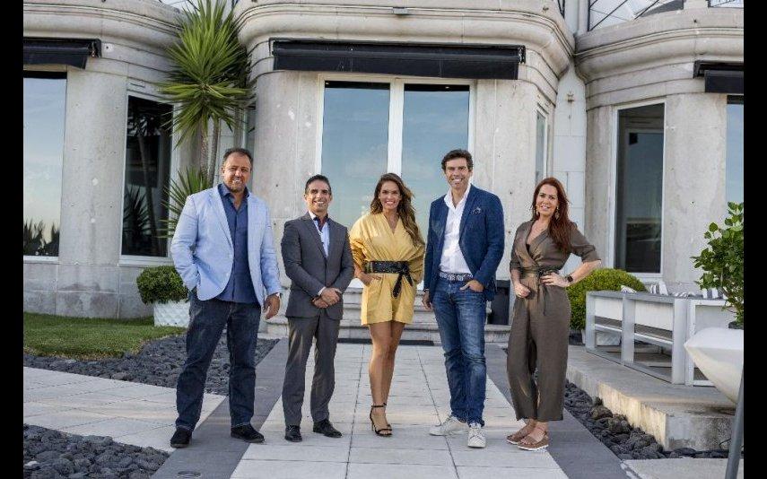 Alexandre Machado, Fernando Mesquita, Diana Chaves, Eduardo Torgal e Cris Carvalho